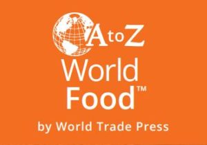 A to Z world food button